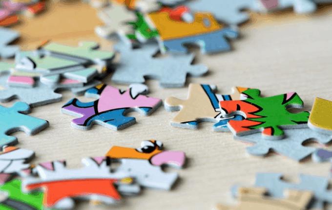 Puzzle Onlarca Gelişimsel Fayda