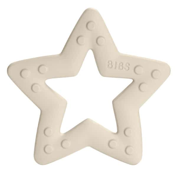 Bibs Baby Bitie Diş Kaşıyıcı Star Baby Ivory