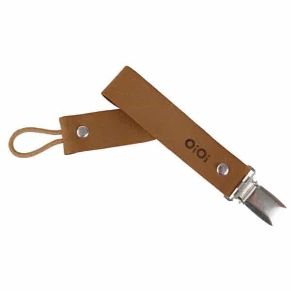 OiOi Klips Cinnamon Brown | Emzik - Diş Kaşıyıcı Askısı