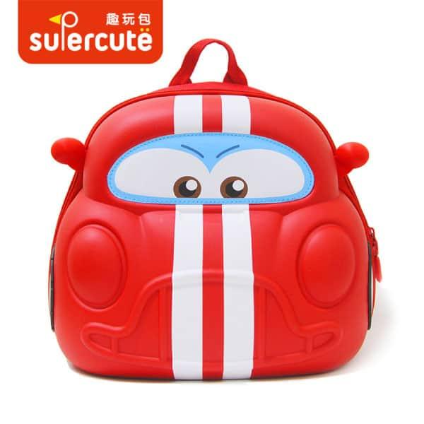 Supercute Çocuk Sırt Çantası – Cars Kırmızı