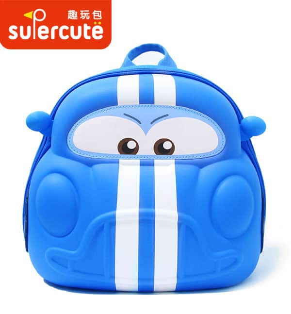 Supercute Çocuk Sırt Çantası Cars Mavi