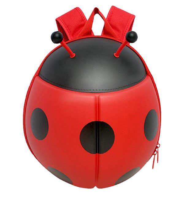 Supercute Çocuk Sırt Çantası Ladybug - Kırmızı