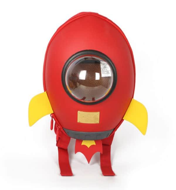 Supercute Çocuk Sırt Çantası Rocket Kırmızı