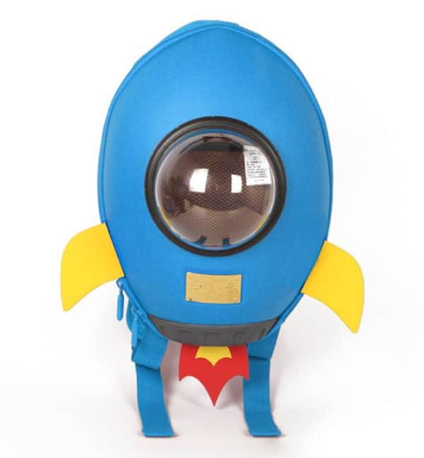 Supercute Çocuk Sırt Çantası   Rocket Mavi