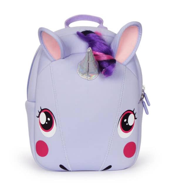 Supercute Çocuk Sırt Çantası Unicorn Lila