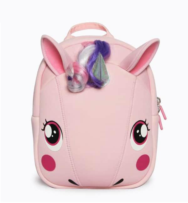 Supercute Çocuk Sırt Çantası Unicorn Pembe