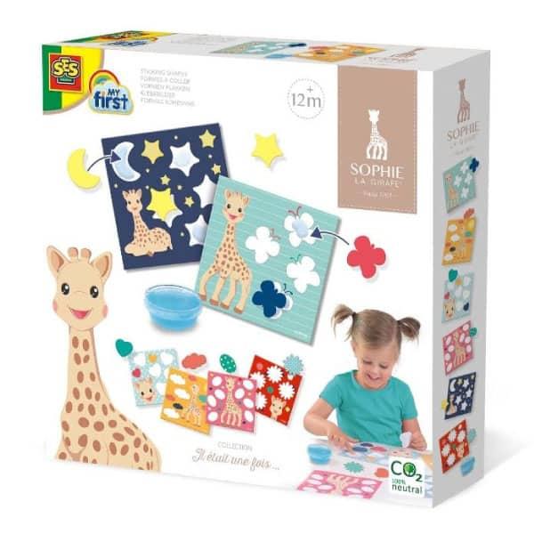 Sophie la Girafe Şekilleri Yapıştırma