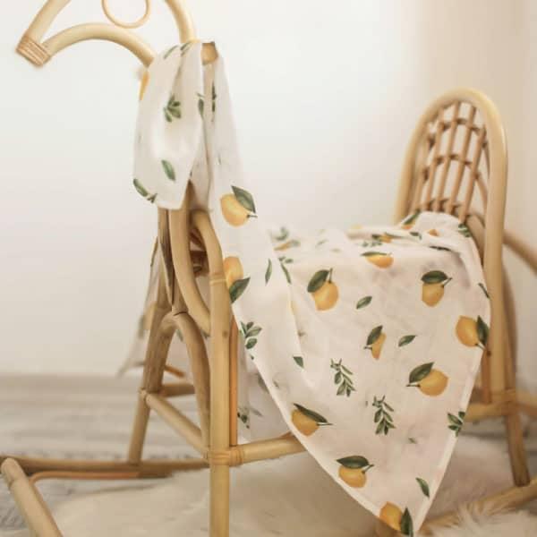 Tarkito Organic Müslin Seti Limon Çiçeği