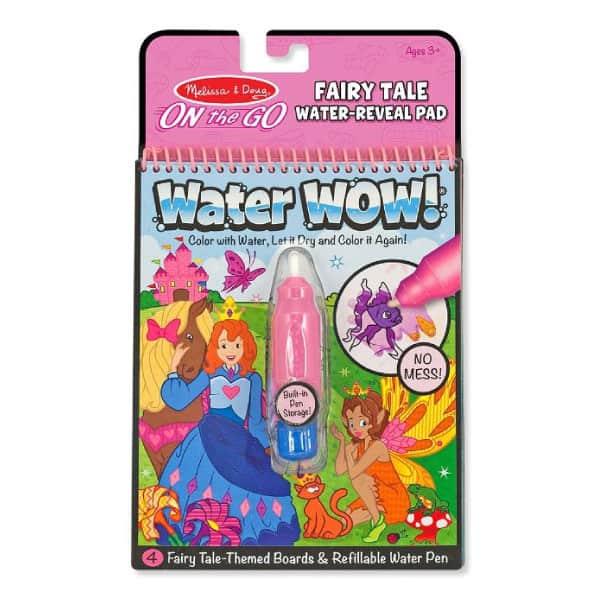 Melissa Doug Water Wow! Su ile boyama kitabı (Peri Hikayesi)